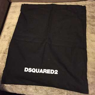 Dsquare2 dust bag