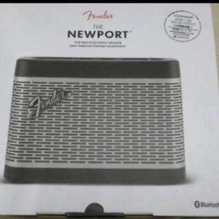 Fender the Newport Bluetooth speaker 藍牙喇叭