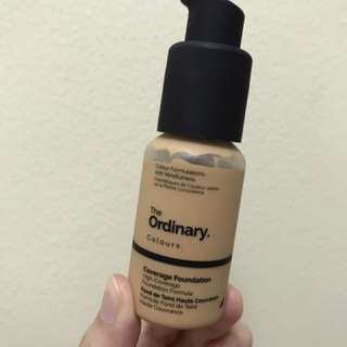 The Ordinary Coverage Foundation 2.1 Y