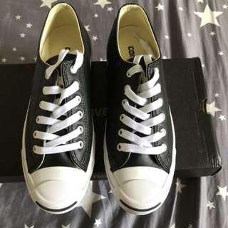 Converse黑色皮革鞋25cm