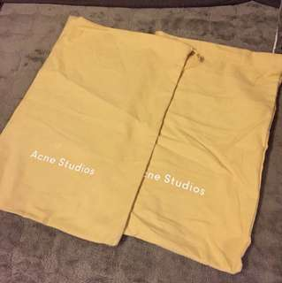 Acne studio dust bag