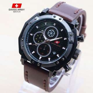 Jam tangan swiss army chrono