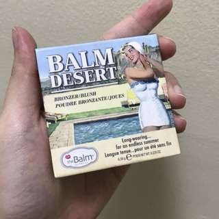 Balm Desert Blush and Bronzer