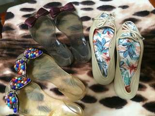 Jelly Sandals size5 Take All