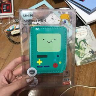 adventure time bmo manicure set
