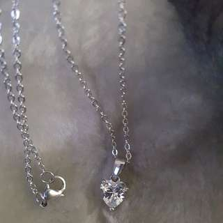 Heart Silver Stainless Necklace