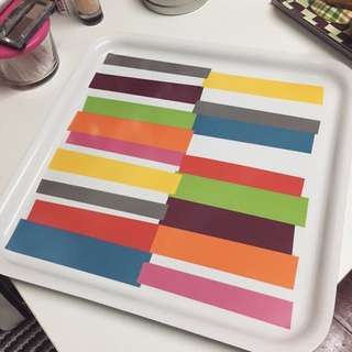 IKEA 彩色 限量 托盤/餐盤