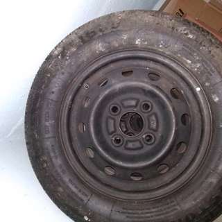 tyre and rim for sale