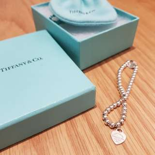 Tiffany mini heart tag