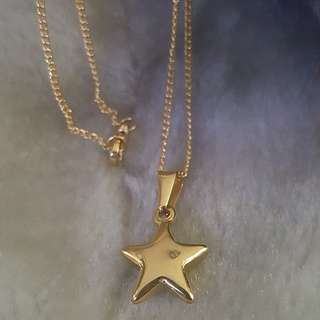 Star Stainless Necklace