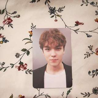 (WTT) Vernon Director's Cut Sunset Ver. Photocard