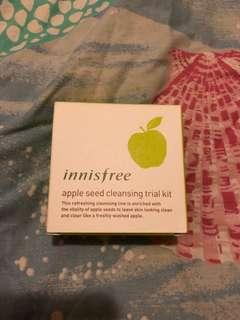 Innisfree apple sees cleansing trial kit