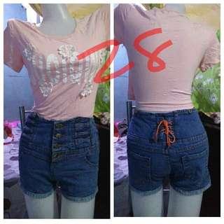 Affordable high waist short