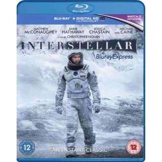 Bluray Interstellar《星際啟示錄》藍光 / 科幻電影