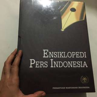 Buku Ensiklopedia Pers Indonesia