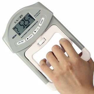 Camry Digital Hand Dynamometer Grip Strength Measurement Meter Auto Capturing Hand Grip Power 200 Lbs / 90 Kgs