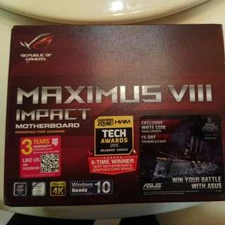 Asus Maximus VIII Impact ITX