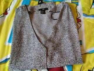 H&M black-white shirt