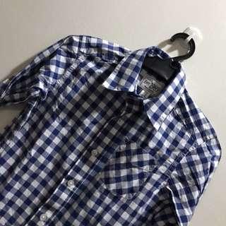 Place Est 1989 Long Sleeve Checkered Shirt