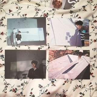 WTT Woozi Director's Cut Sunset Ver. Postcards