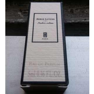 Serge Lutens miniature 5ml bottle Ambre Sultan