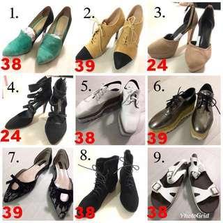 🚚 全新、二手鞋子(150起)請依編號詢價!