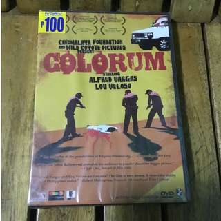 'Colorum' Movie DVD