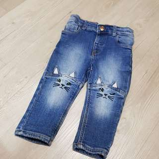 Baby girl jeans