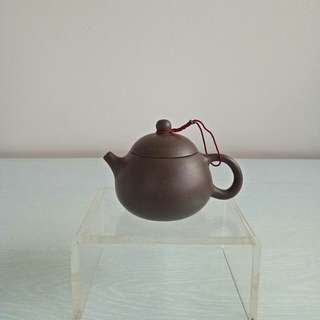 Black zisha teapot height 5cm diameter 4cm mint condition unused