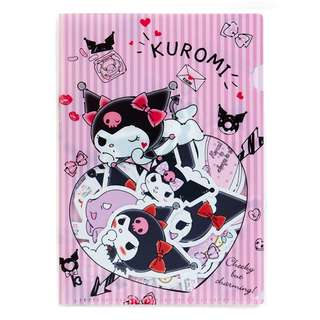 Japan Sanrio Kuromi Decoration Sticker