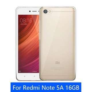 Xiaomi Redmi Note 5A TPU Casing