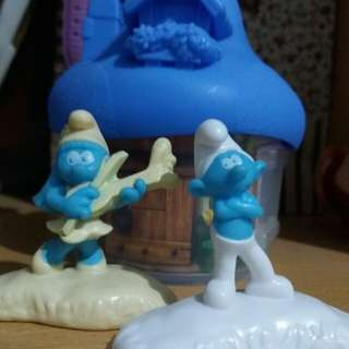 Happy Meal Smurf (Blue) Edition