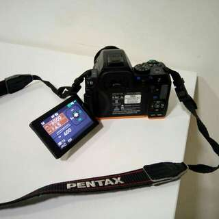 PENTAX camera 20 MP + 2 lenses
