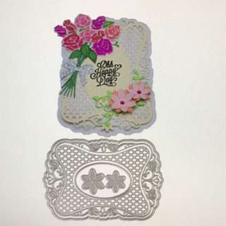 Frames and flowers scrapbooking Cutting Dies