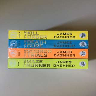 The Maze Runner Book Set