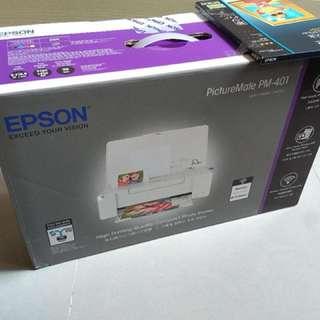 Epson PictureMate PM-401無線相片打印機