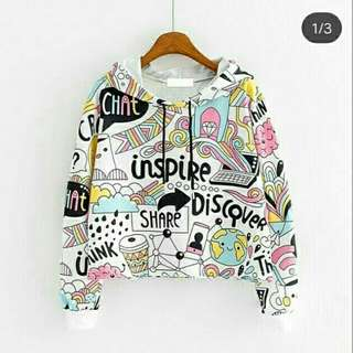 Bo.Z Hoodie Hip Hop 65.000 Bahan babyterry fit to L