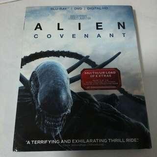 Alien Covenant Bluray/DVD/Digital