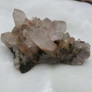 🚚 白水晶簇