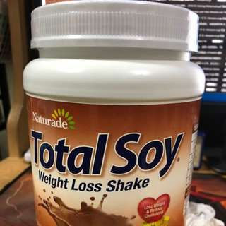 Total soy weight loss shake