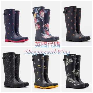 英國代購Joules Printed Wellies