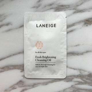 Laneige Fresh Brightening Cleansing Oil (4ml)