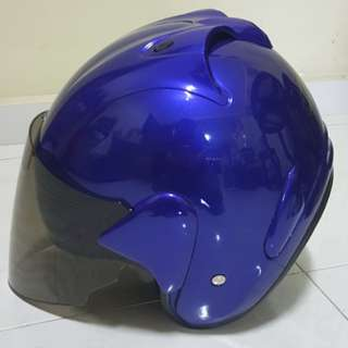2002***ARC Ritz Helmet Gloss Blue For Sale 😁😁Thanks To All My Buyer Support 🐇🐇 Yamaha, Honda, Suzuki