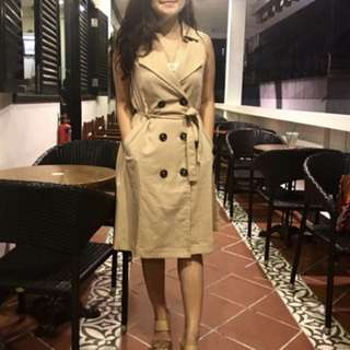 Trench dress (S)