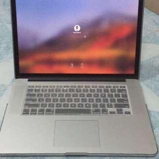 "Macbook Pro 15"" Retina i7 SSD 512GB RAM 16GB Late 2013"