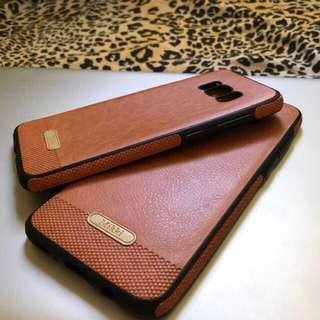 Samsung S8 Plus and S7 Edge Leather Case