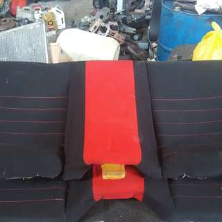 Back Seat Skyline GTR34 Great Condition
