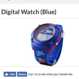 Sea Games 2017 Digital watch