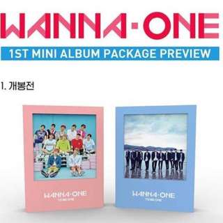 [QUICK PO] Wanna One Debut Album(To Be One)