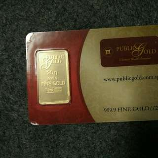 Gold Bar LBMA 20g